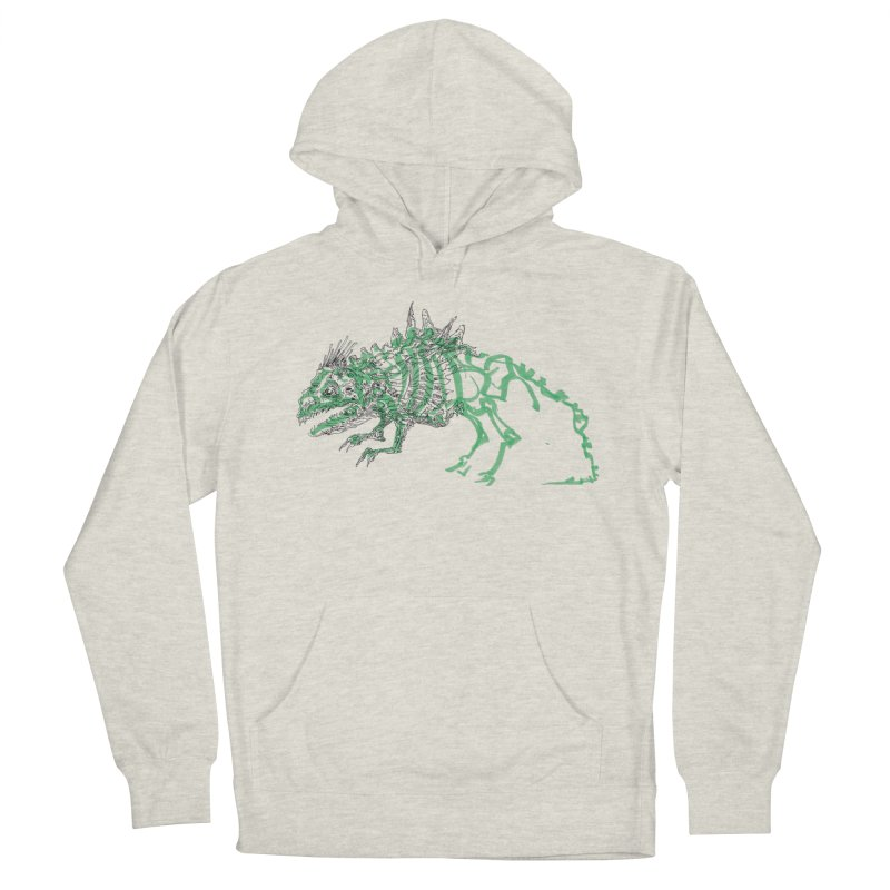 Chimera Chameleon Men's French Terry Pullover Hoody by Democratee