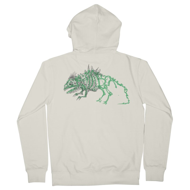 Chimera Chameleon Men's French Terry Zip-Up Hoody by Democratee