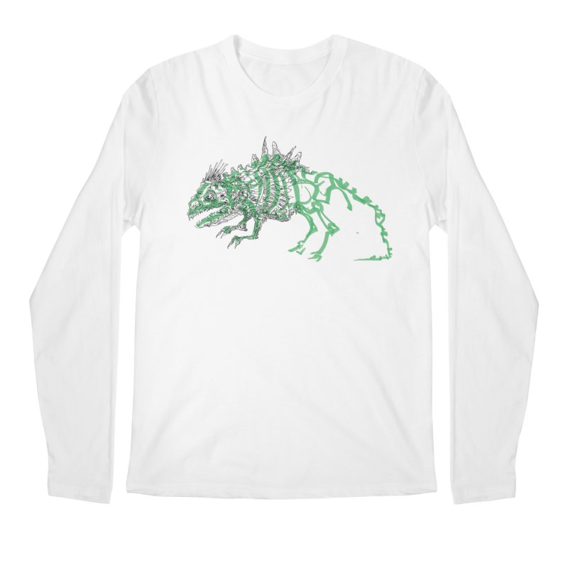 Chimera Chameleon Men's Regular Longsleeve T-Shirt by Democratee