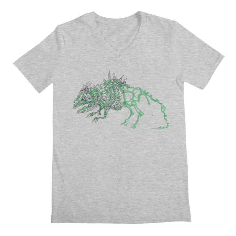 Chimera Chameleon Men's Regular V-Neck by Democratee