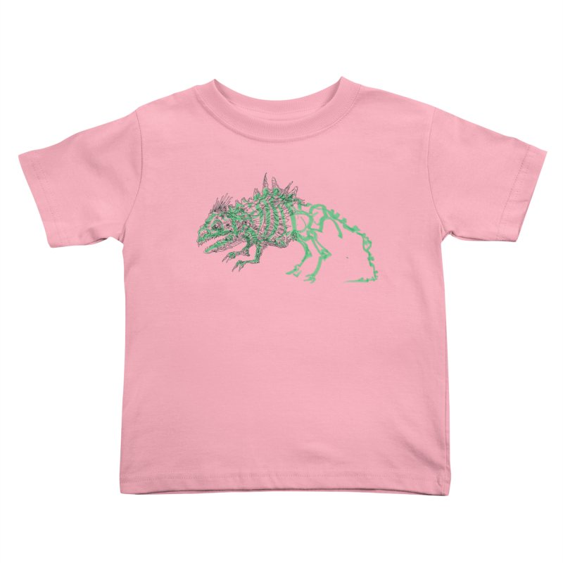 Chimera Chameleon Kids Toddler T-Shirt by Democratee