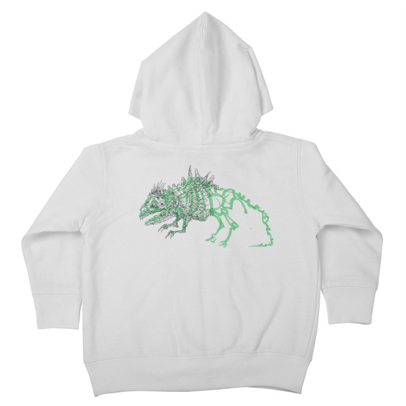 Chimera Chameleon Kids Toddler Zip-Up Hoody by Democratee