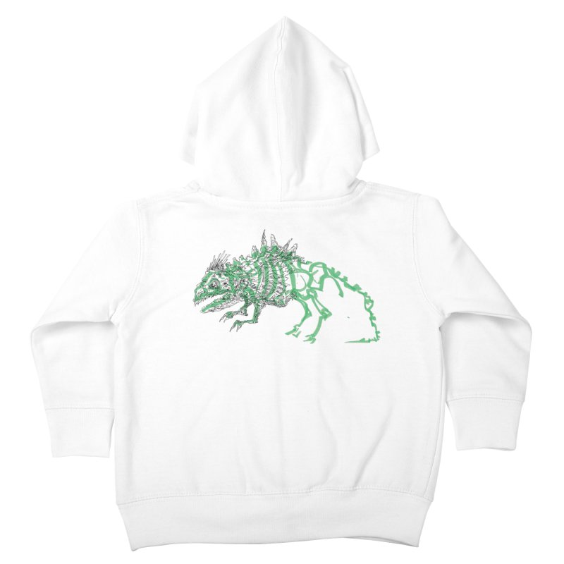 Chimera Chameleon Kids Toddler Zip-Up Hoody by Democratee