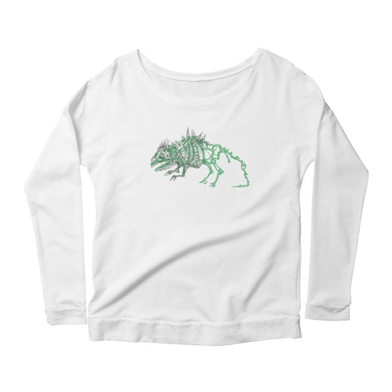 Chimera Chameleon Women's Scoop Neck Longsleeve T-Shirt by Democratee