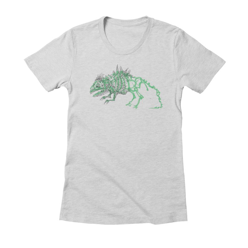 Chimera Chameleon Women's Fitted T-Shirt by Democratee