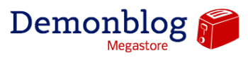 Demonblog Megastore Logo