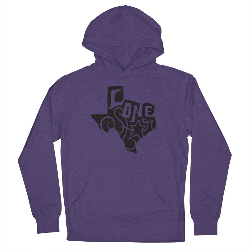 For the Love of Texas Men's Pullover Hoody by DenDraws's Shop
