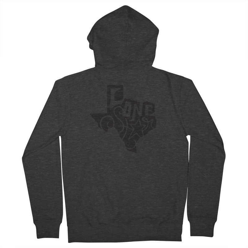 For the Love of Texas Women's Zip-Up Hoody by DenDraws's Shop