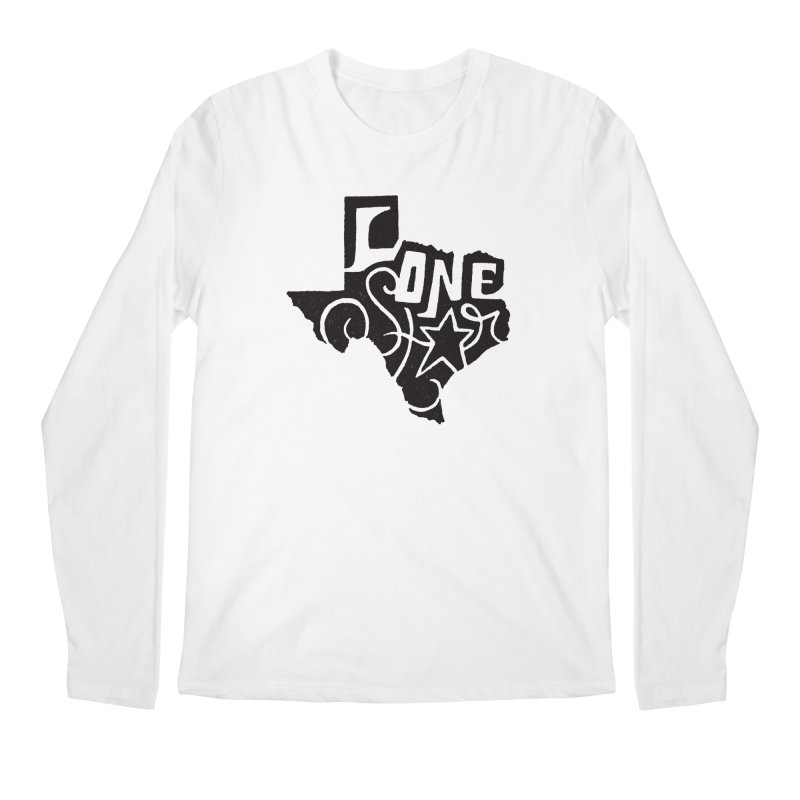For the Love of Texas Men's Longsleeve T-Shirt by DenDraws's Shop