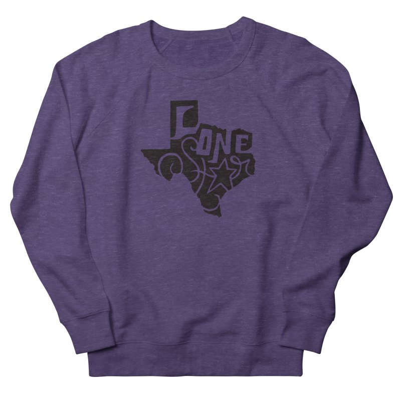 For the Love of Texas Women's Sweatshirt by DenDraws's Shop