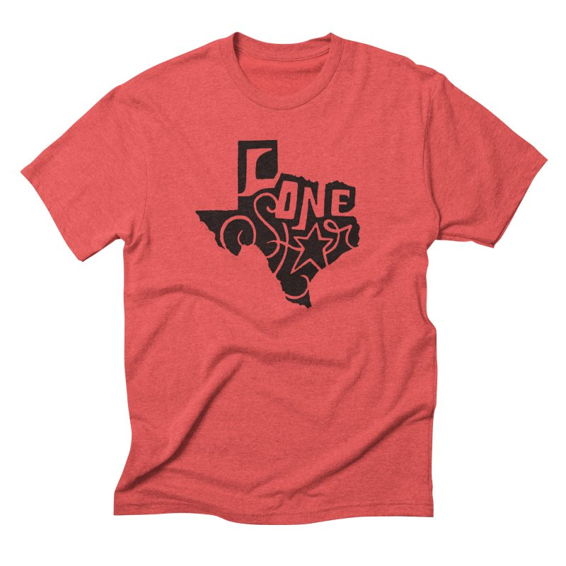 For the Love of Texas Men's Triblend T-Shirt by DenDraws's Shop