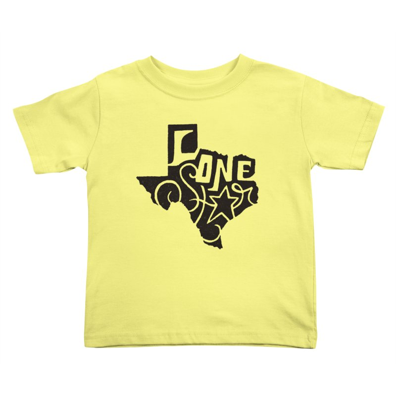 For the Love of Texas Kids Toddler T-Shirt by DenDraws's Shop