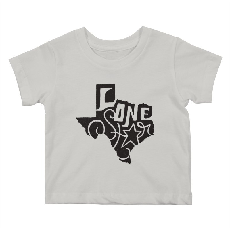 For the Love of Texas Kids Baby T-Shirt by DenDraws's Shop