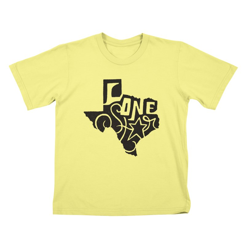 For the Love of Texas Kids T-shirt by DenDraws's Shop