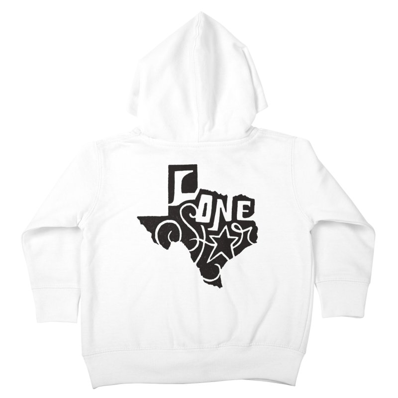 For the Love of Texas Kids Toddler Zip-Up Hoody by DenDraws's Shop