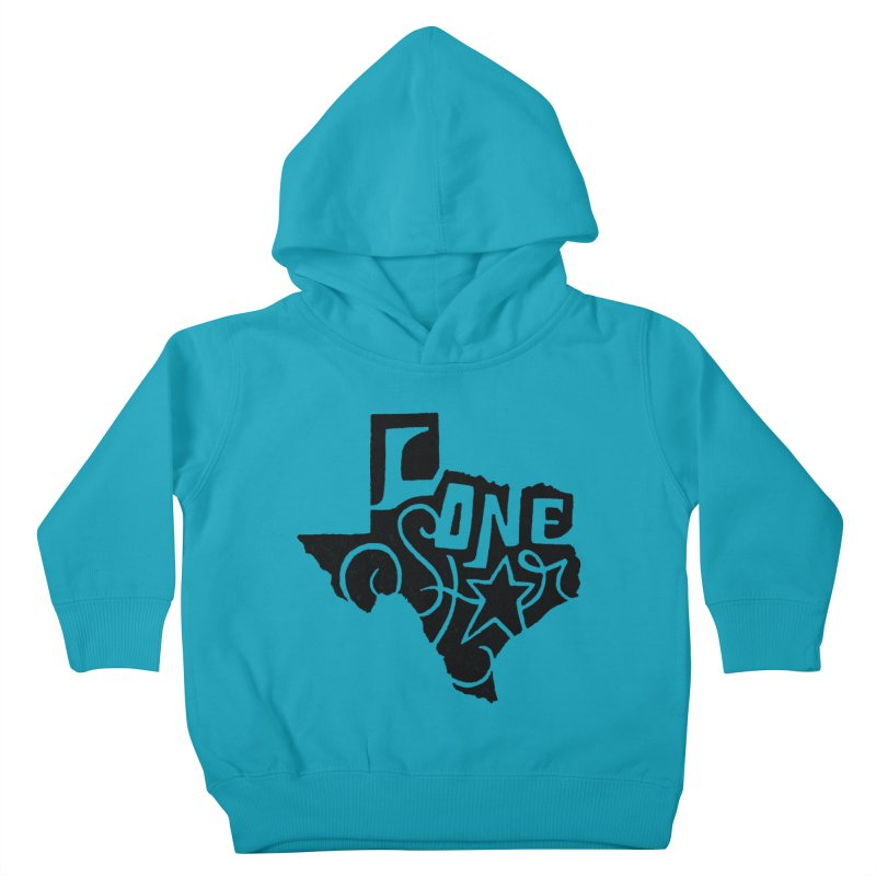 For the Love of Texas Kids Toddler Pullover Hoody by DenDraws's Shop