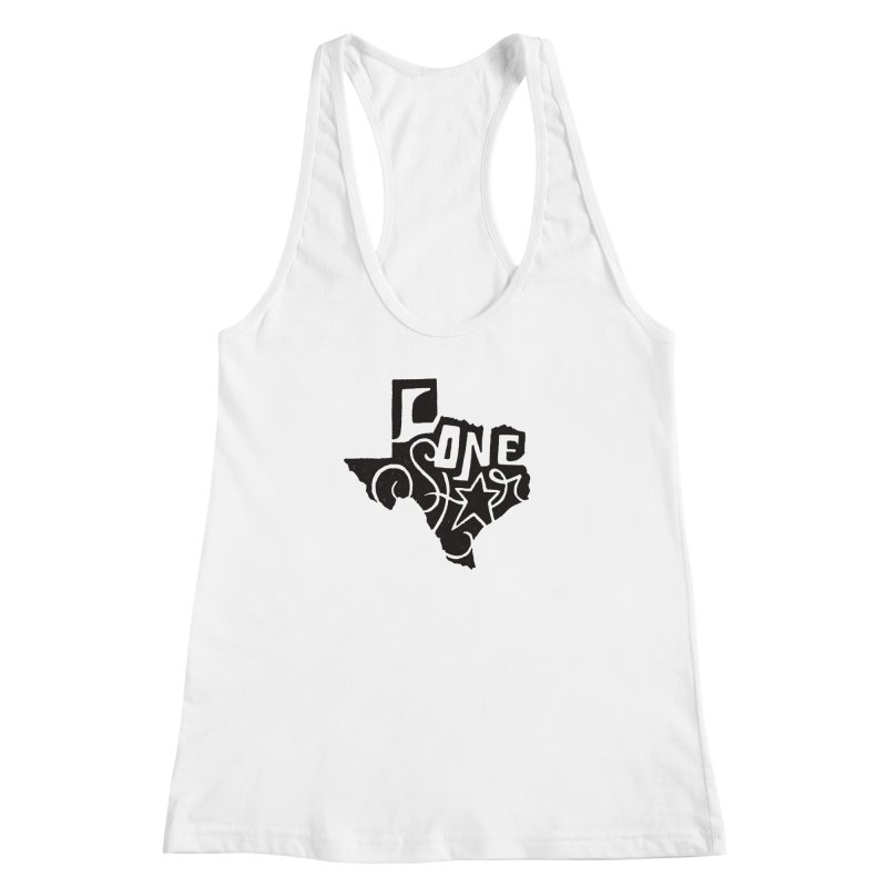 For the Love of Texas Women's Racerback Tank by DenDraws's Shop