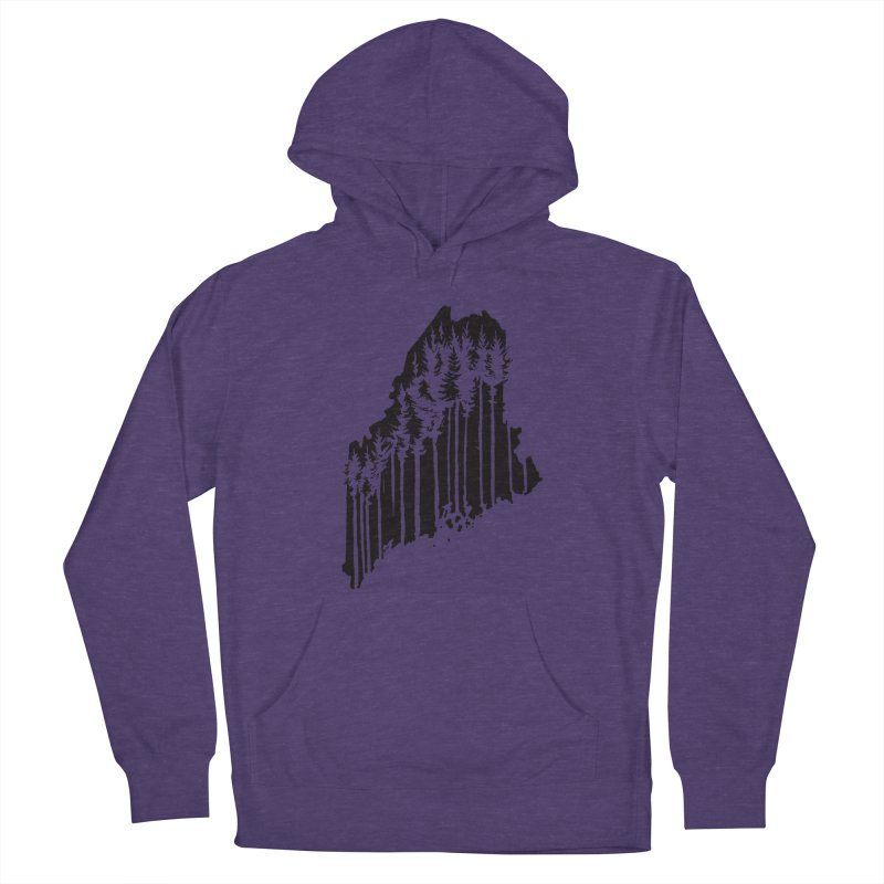 For the Love of Maine Women's Pullover Hoody by DenDraws's Shop