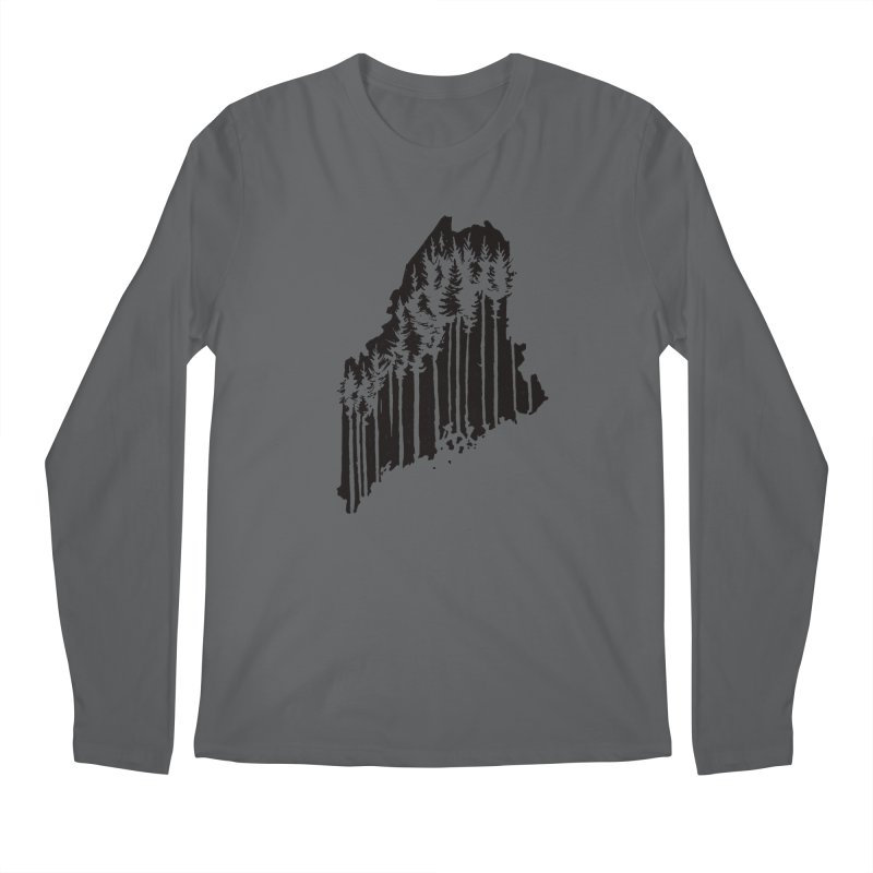 For the Love of Maine Men's Longsleeve T-Shirt by DenDraws's Shop