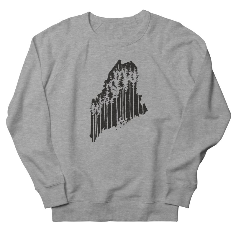 For the Love of Maine Men's Sweatshirt by DenDraws's Shop