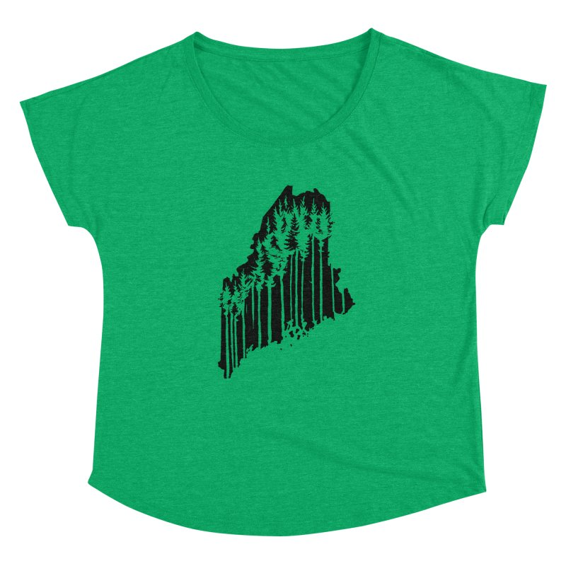 For the Love of Maine Women's Dolman by DenDraws's Shop