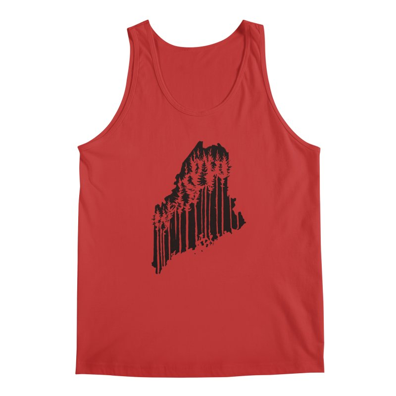 For the Love of Maine Men's Tank by DenDraws's Shop