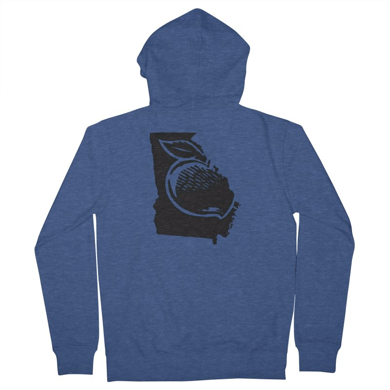 For the Love of Georgia Women's Zip-Up Hoody by DenDraws's Shop