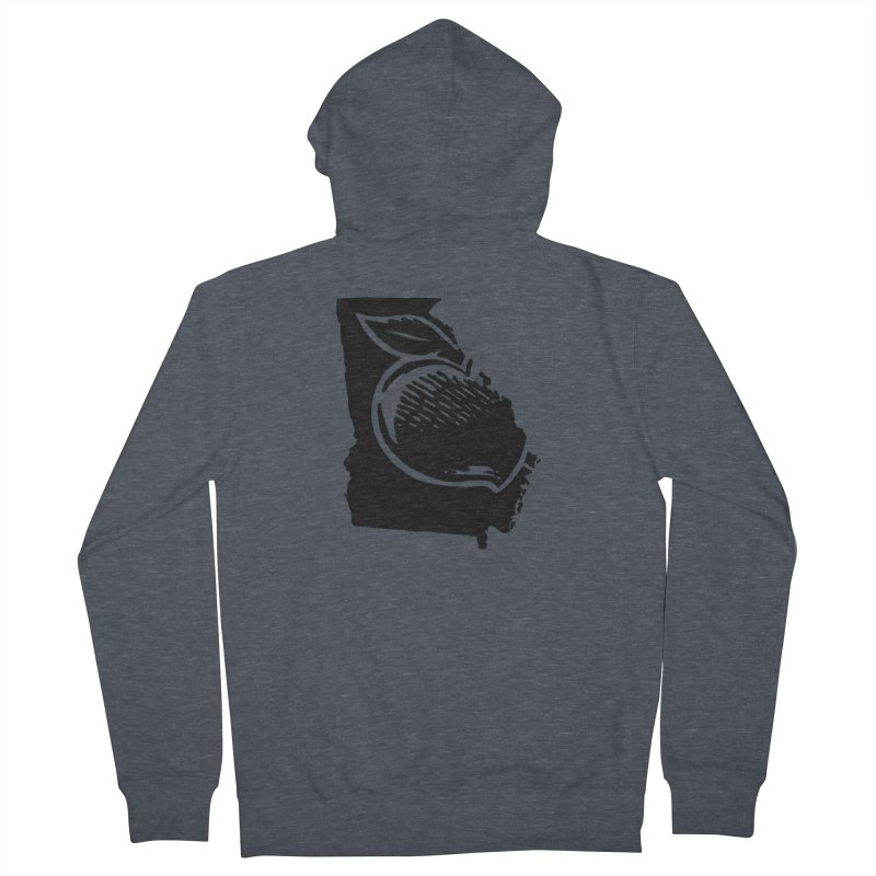 For the Love of Georgia Men's Zip-Up Hoody by DenDraws's Shop