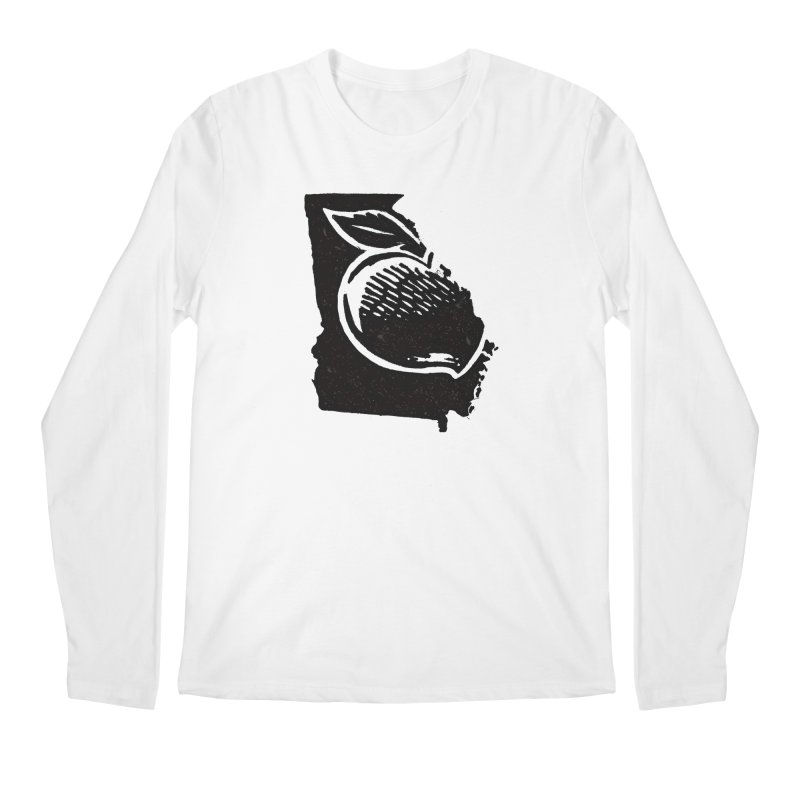 For the Love of Georgia Men's Longsleeve T-Shirt by DenDraws's Shop