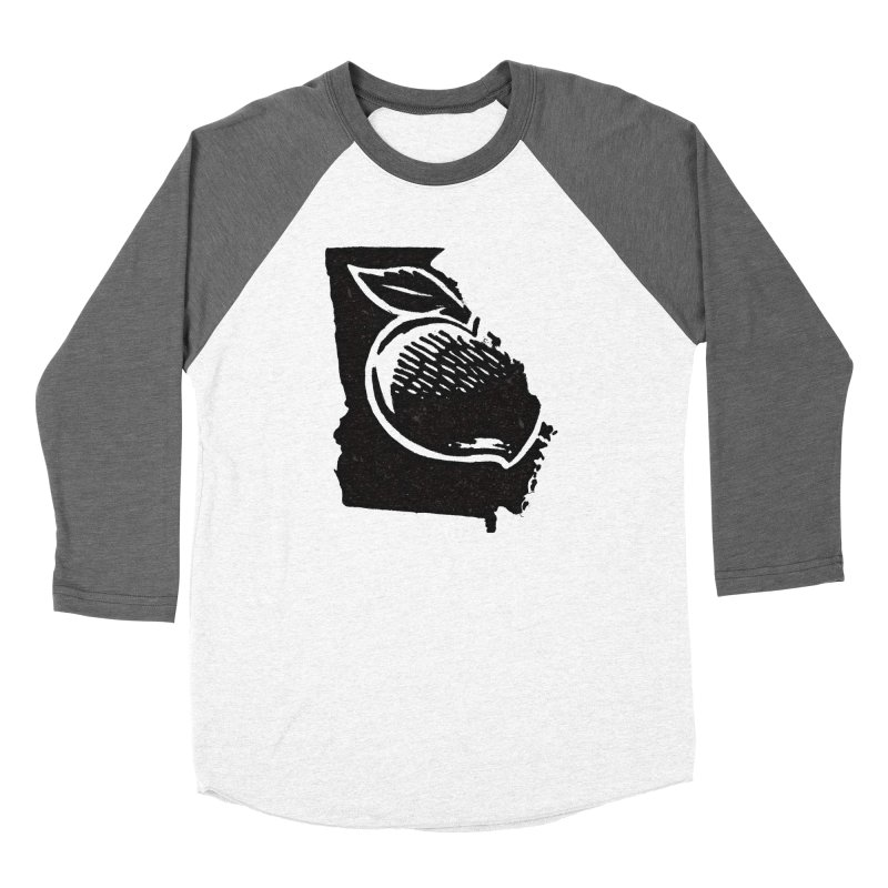 For the Love of Georgia Men's Baseball Triblend T-Shirt by DenDraws's Shop