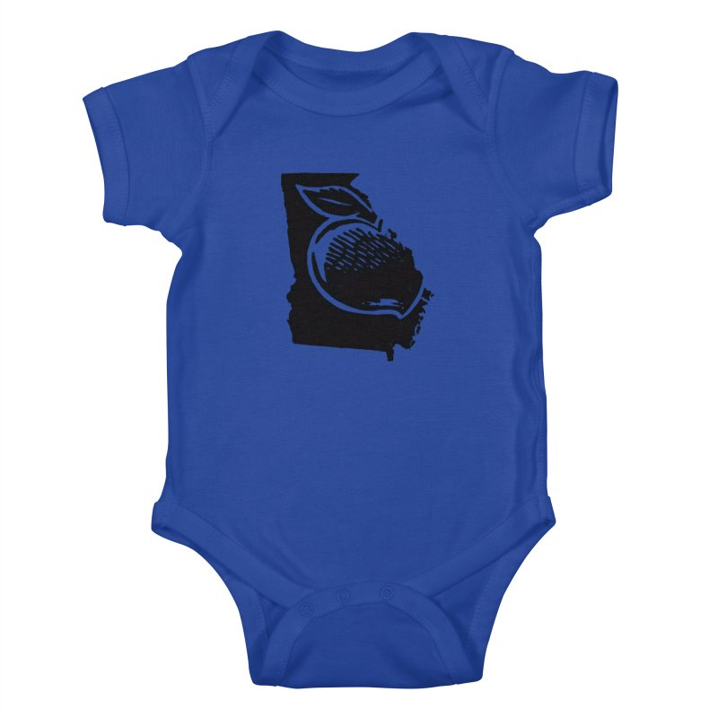 For the Love of Georgia Kids Baby Bodysuit by DenDraws's Shop