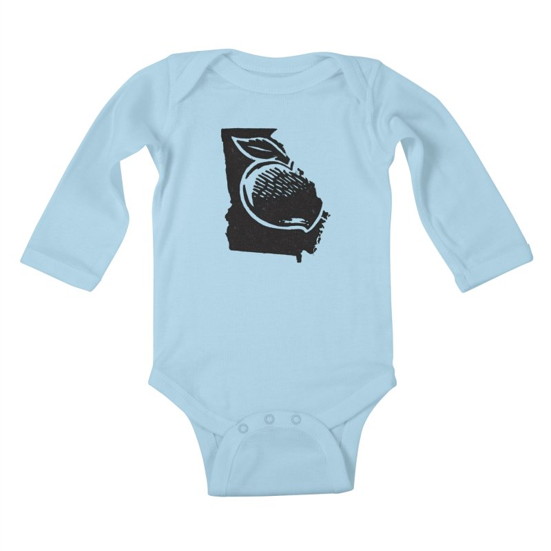 For the Love of Georgia Kids Baby Longsleeve Bodysuit by DenDraws's Shop