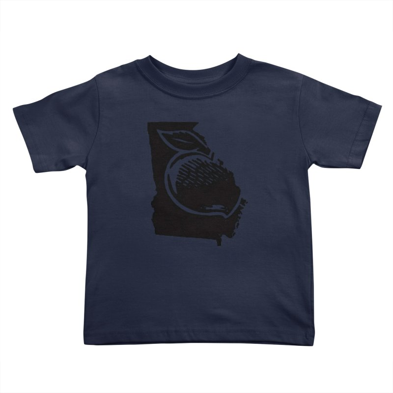 For the Love of Georgia Kids Toddler T-Shirt by DenDraws's Shop
