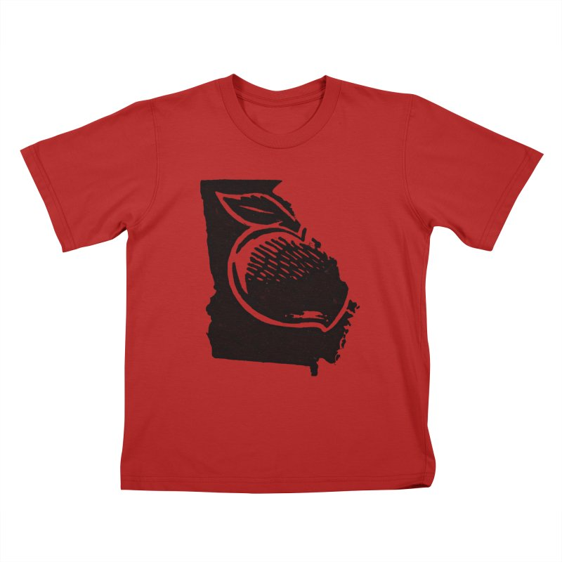 For the Love of Georgia Kids T-shirt by DenDraws's Shop