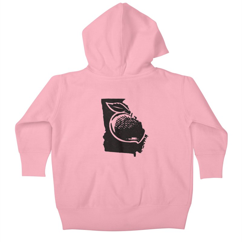 For the Love of Georgia Kids Baby Zip-Up Hoody by DenDraws's Shop