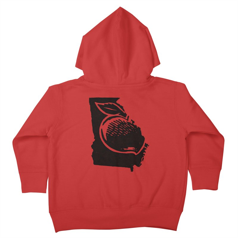 For the Love of Georgia Kids Toddler Zip-Up Hoody by DenDraws's Shop