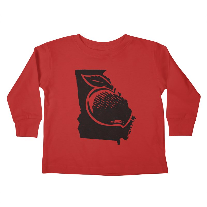 For the Love of Georgia Kids Toddler Longsleeve T-Shirt by DenDraws's Shop