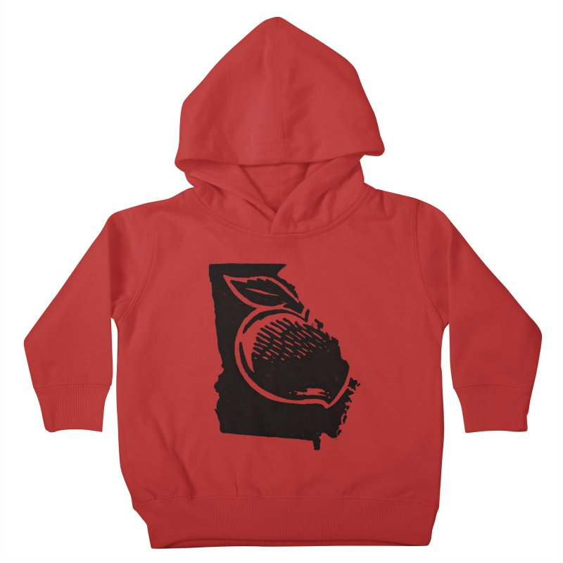 For the Love of Georgia Kids Toddler Pullover Hoody by DenDraws's Shop