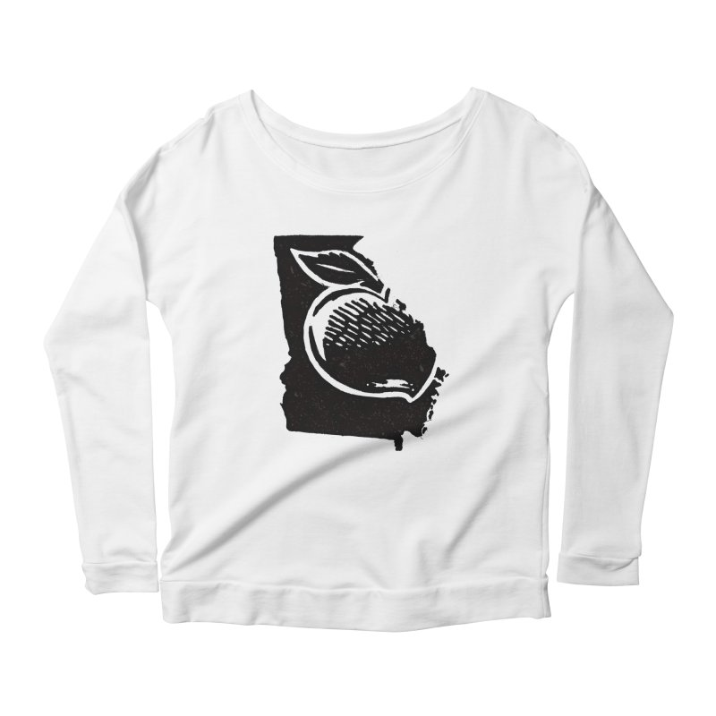 For the Love of Georgia Women's Longsleeve Scoopneck  by DenDraws's Shop