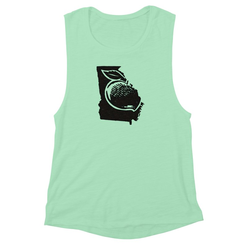 For the Love of Georgia Women's Muscle Tank by DenDraws's Shop