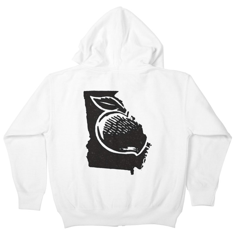 For the Love of Georgia Kids Zip-Up Hoody by DenDraws's Shop