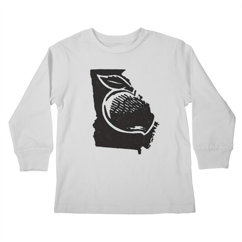 For the Love of Georgia Kids Longsleeve T-Shirt by DenDraws's Shop