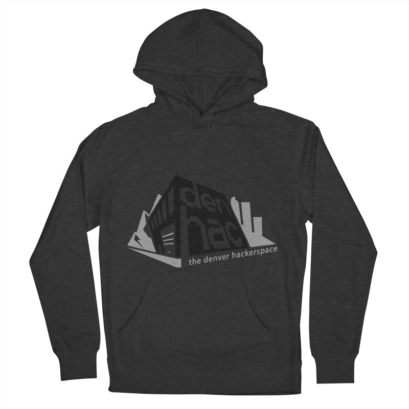 Old School Logo Men's Pullover Hoody by denhac swag