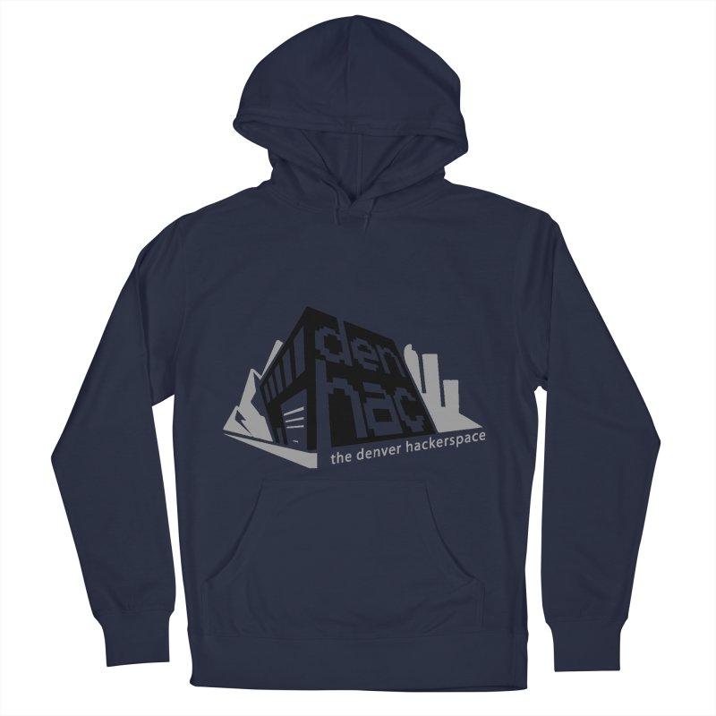 Old School Logo Men's Pullover Hoody by denhac swag