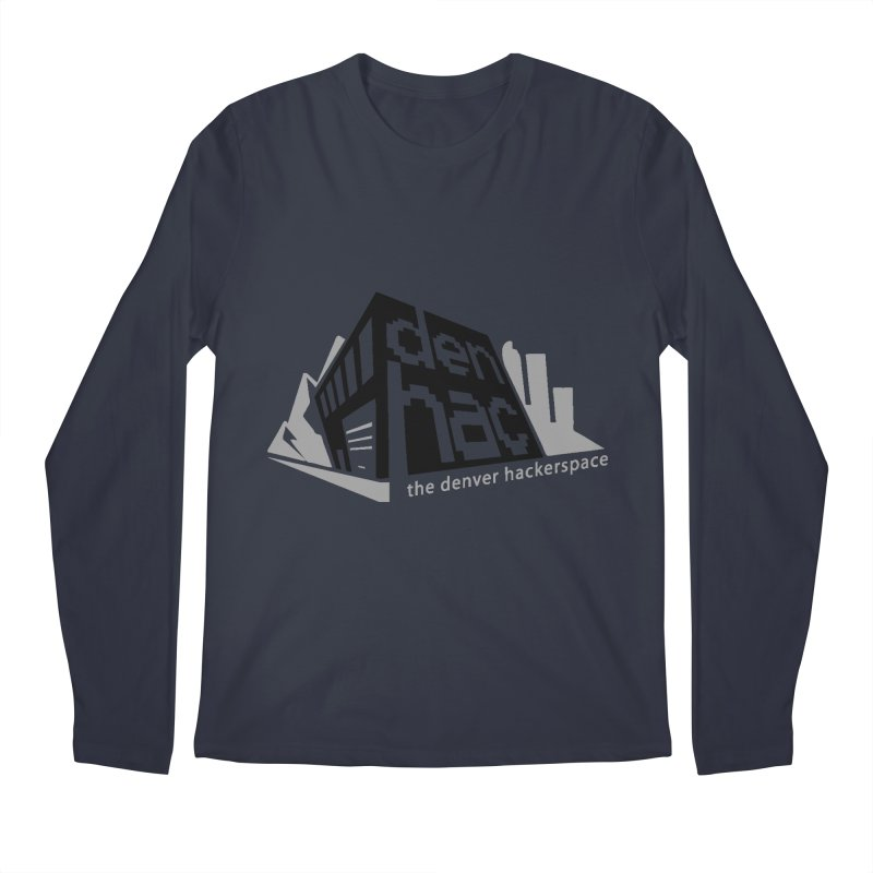 Old School Logo Men's Longsleeve T-Shirt by denhac swag
