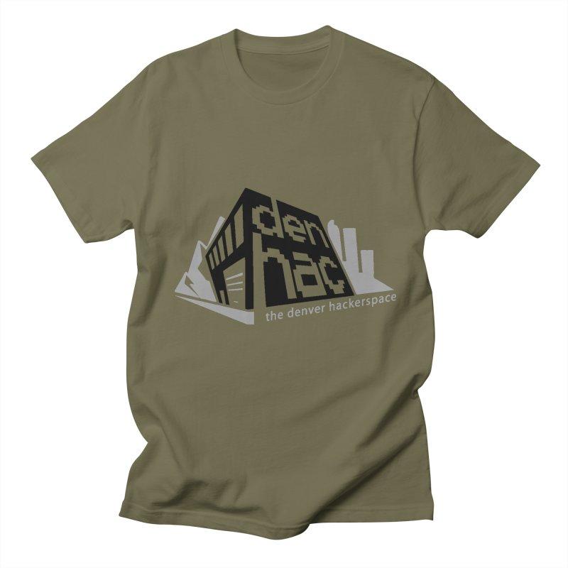 Old School Logo Men's T-shirt by denhac swag