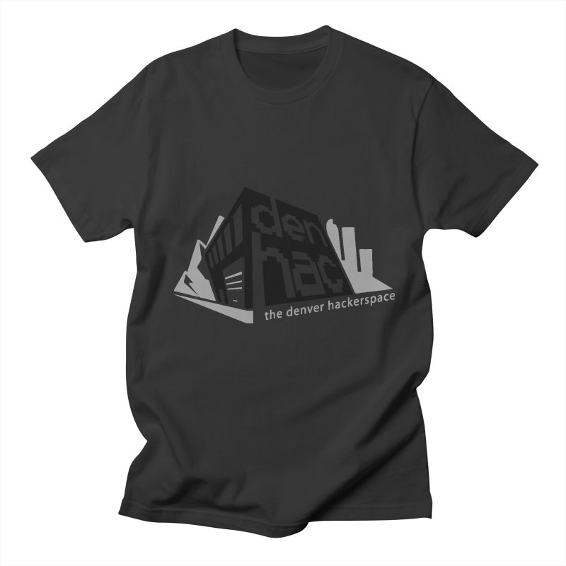 Old School Logo Men's T-shirt by denhac swag