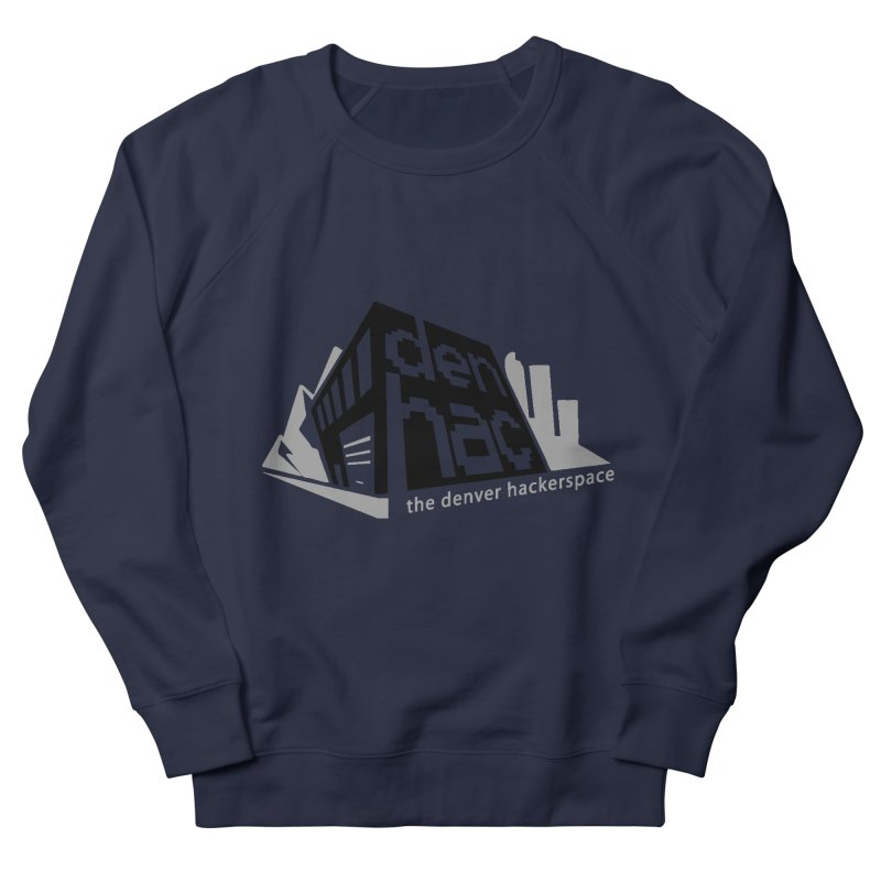 Old School Logo Men's French Terry Sweatshirt by denhac swag