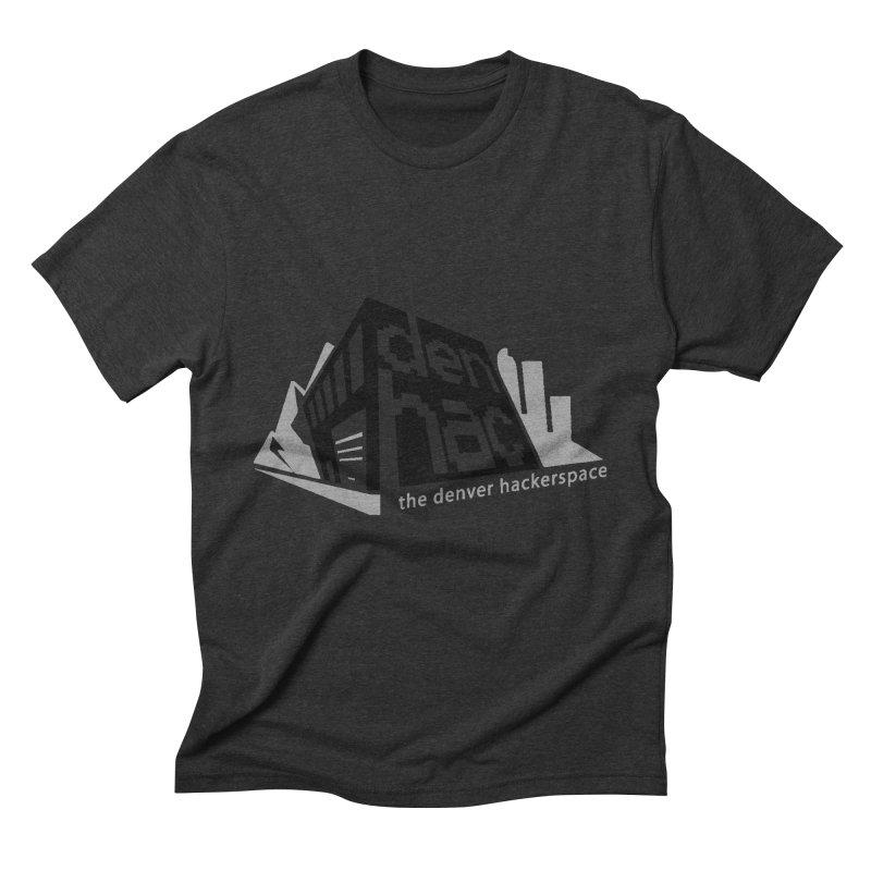Old School Logo Men's Triblend T-Shirt by denhac swag