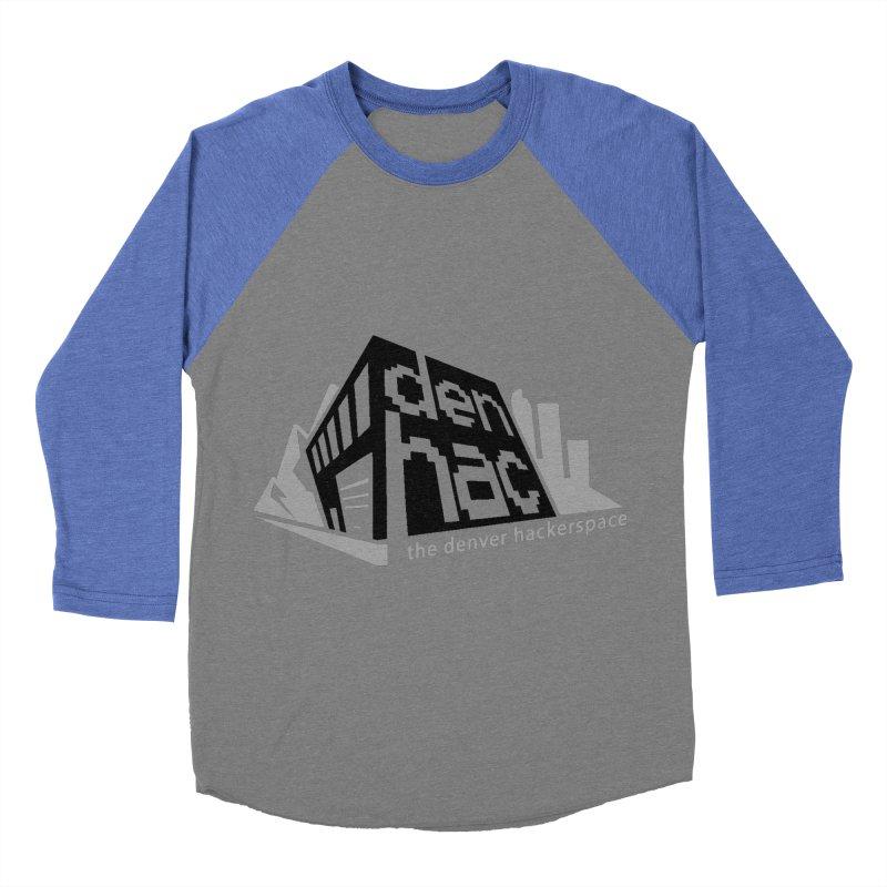 Old School Logo Women's Baseball Triblend Longsleeve T-Shirt by denhac swag